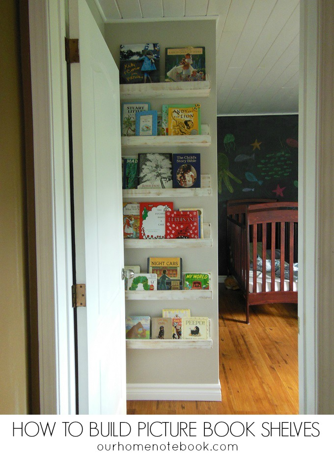 How To Build Picture Book Shelves