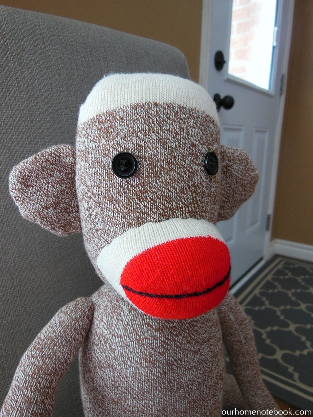 Making A Sock Monkey