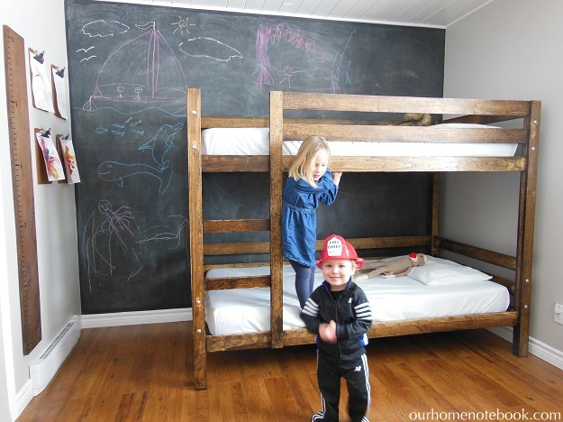Building a Bunk Bed - kids playing