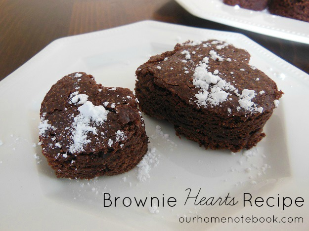 Brownie Hearts Recipe