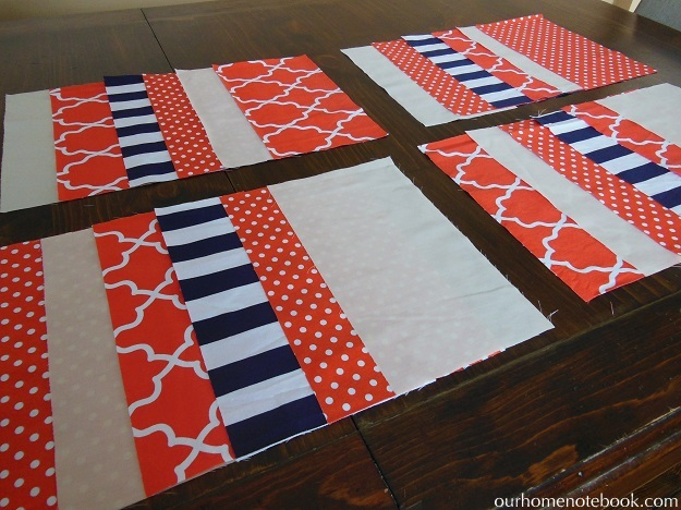 striped quilt choosing order of fabric
