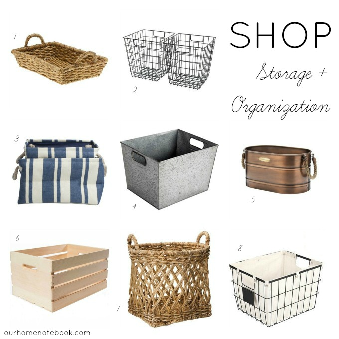 Shop: Storage + Organization