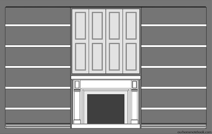 TV Nook Door Plans
