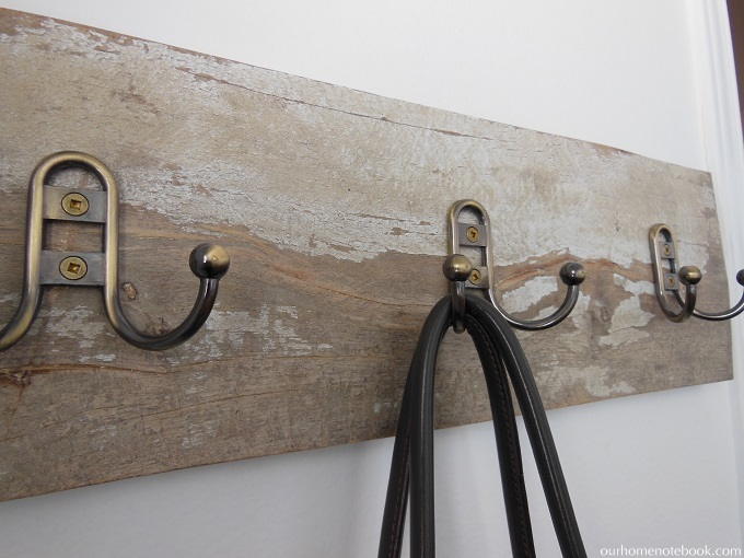 Organize Your Home: Front Entry Hooks