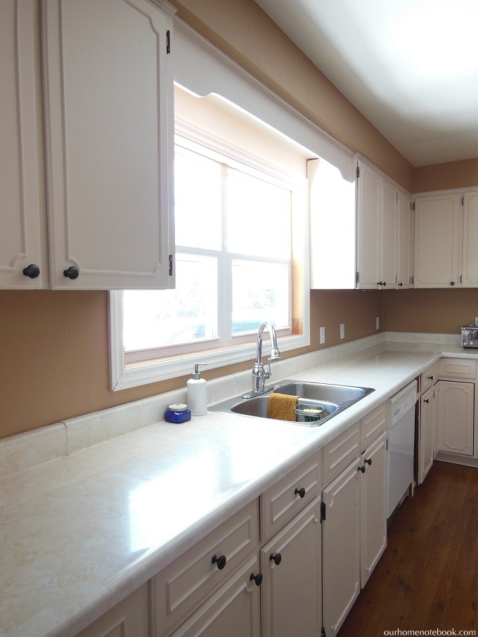 budget kitchen renovation plan our home notebook