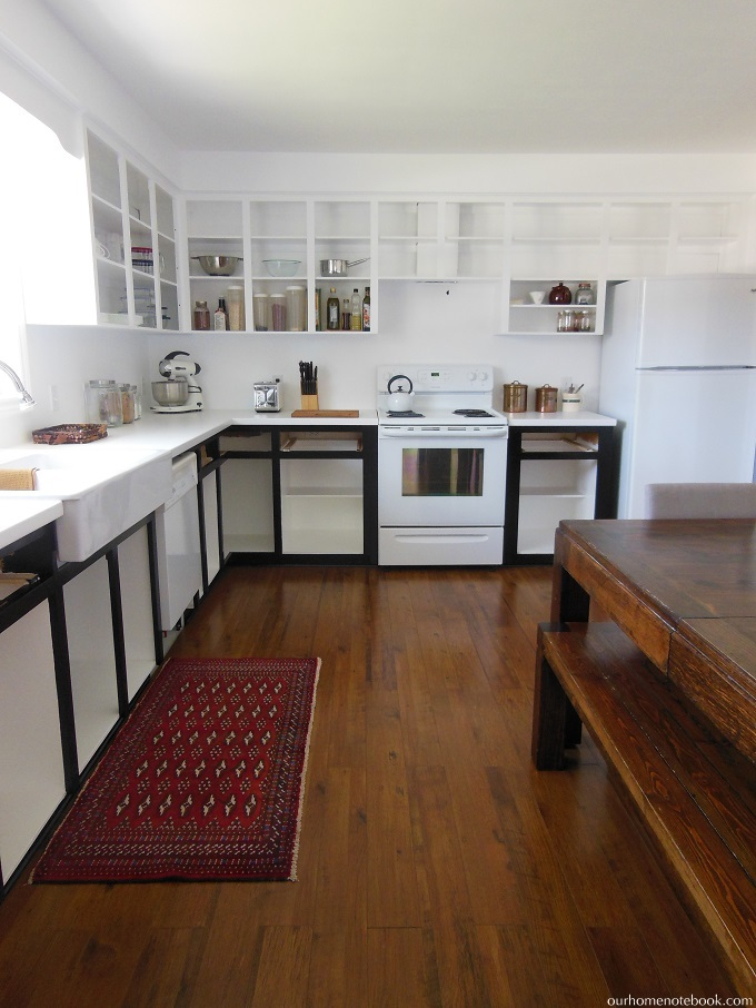 Budget Kitchen Renovation: Paint | Our Home Notebook