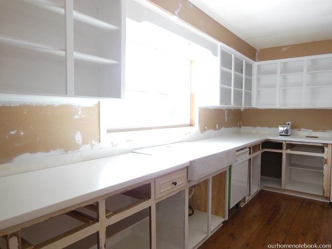 Budget Kitchen Renovation: Prep Work
