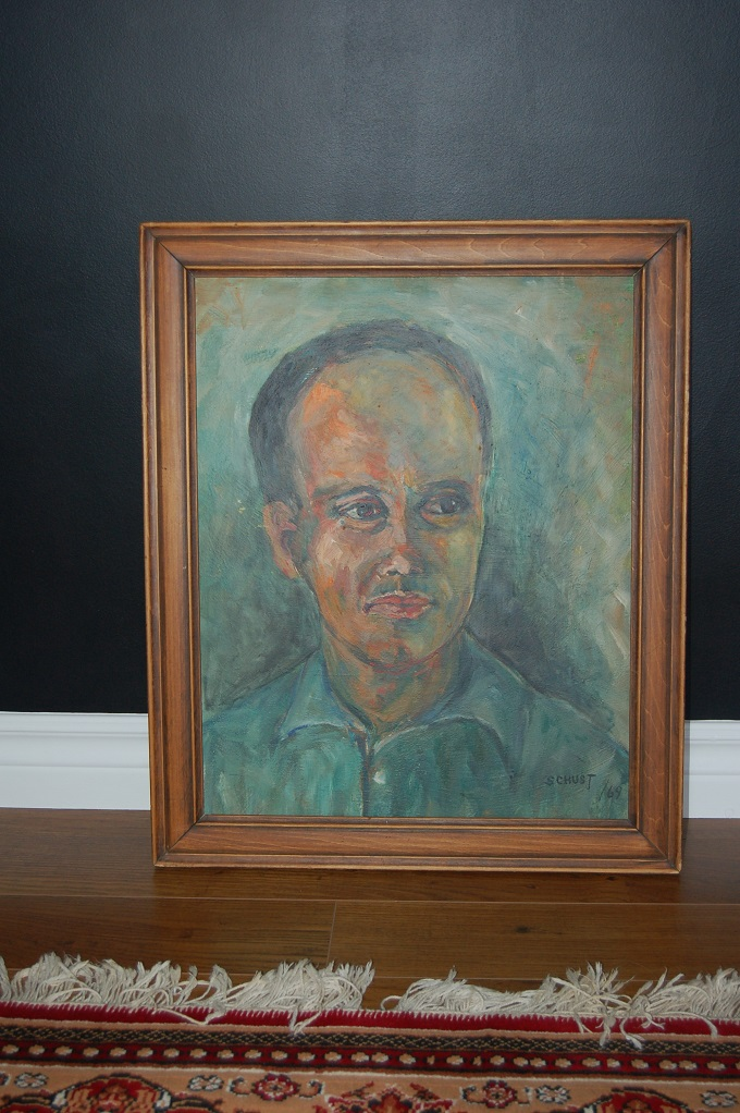 Thrifted: Painted Portrait